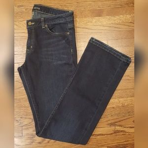 Michael Kors Dark Wash Bootcut Jeans 2